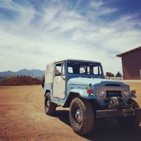 1972 FJ40 Factory Soft top
